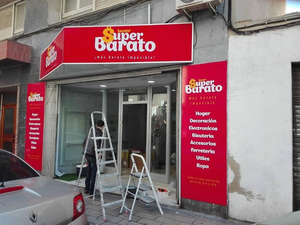 rotulo bazar