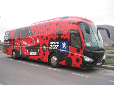 rotulacion autobus